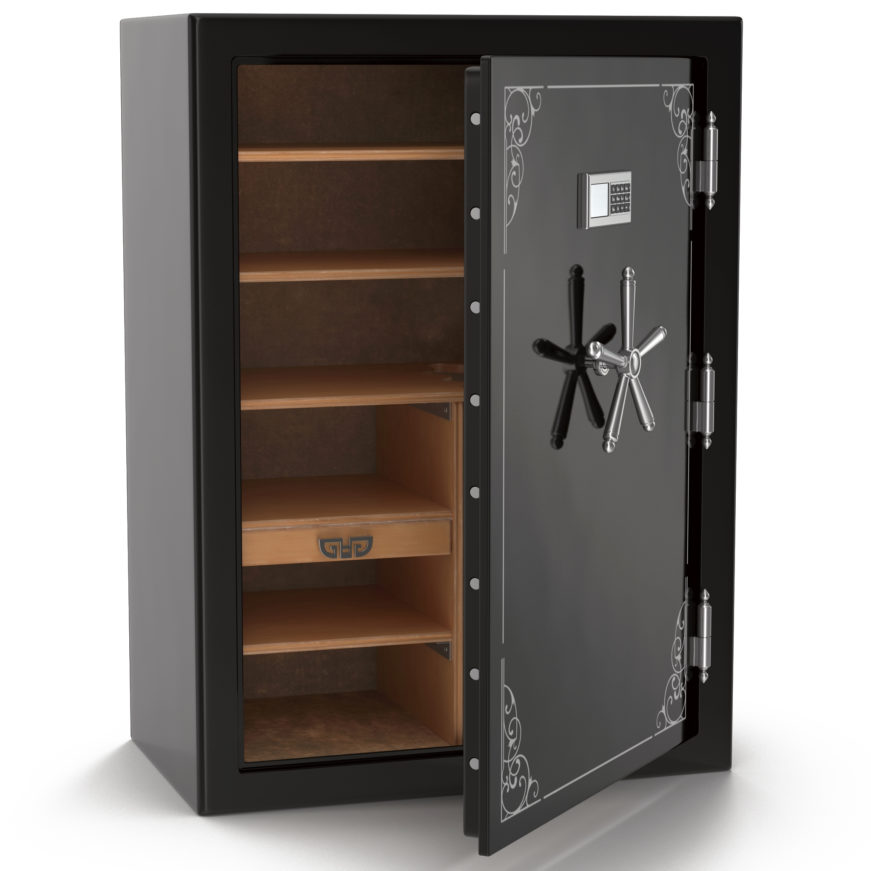 open and empty gun safe